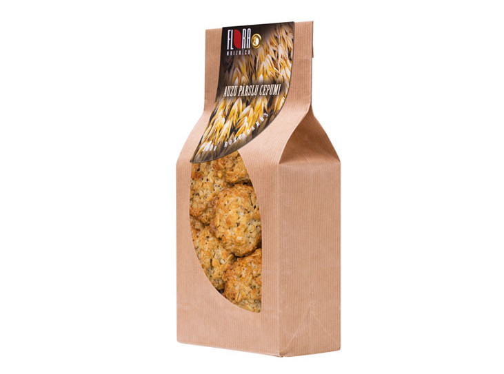 Auzu parslu cepumi ar saulespuķu sēklām 300g - maiznīca Flora
