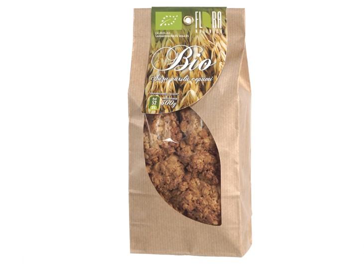 BIO Auzu pārslu cepumi (Klasiskie) 300 g - maiznīca Flora