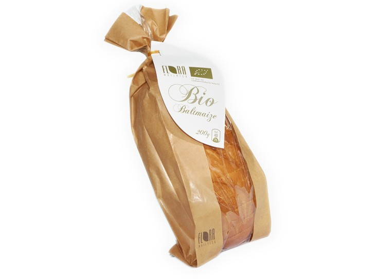 BIO baltmaize 200 g - maiznīca Flora