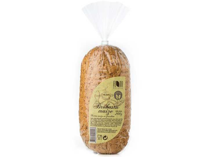 Brokastu maize (sagriezta) 200 g - maiznīca Flora