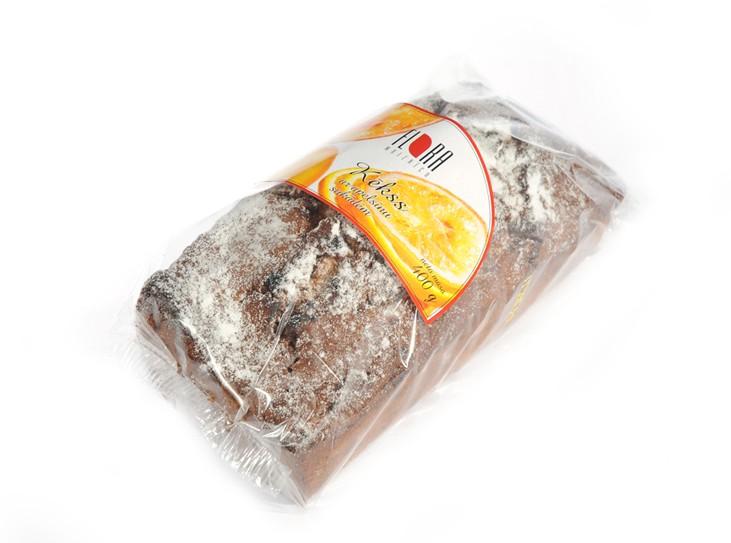 Kekss ar sukādēm 400 g - maiznīca Flora