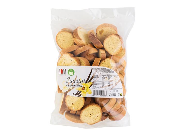 Sausiņi ar vanilīnu 250g - maiznīca Flora