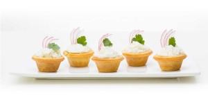 Horeca - sāļie groziņi salātiem - maiznīca Flora