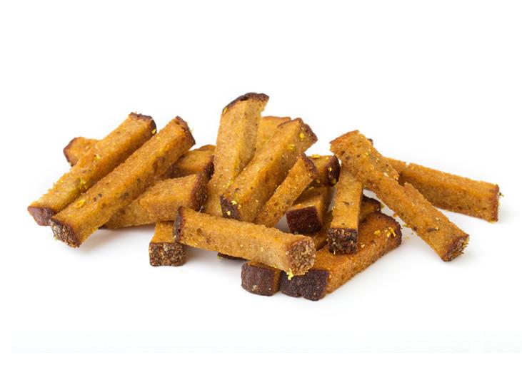 Horeca - Saldskābmaizes ķiploku grauzdiņi - maiznīca Flora