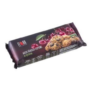 Rolled oat cookies with cherries 175g
