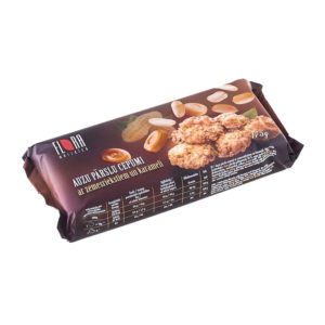 Rolled oat cookies with peanuts and caramel 175g