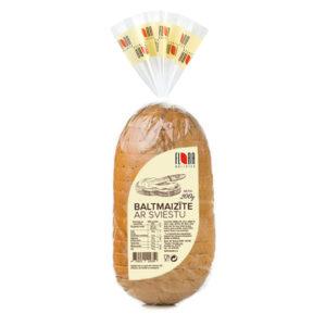 Baltmaizīte ar sviestu 200g