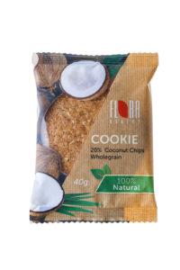 COOKIES Pilngraudu auzu cepumi ar kokosriekstu skaidiņām 40 g