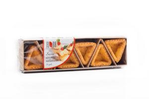 Dreieckige Käseteigschalen für Salat 18 Stück, 115g