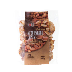 Rolled oat cookies with peanuts 450g