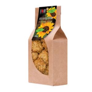 Haferflockenkekse mit Sonnenblumenkernen                300g