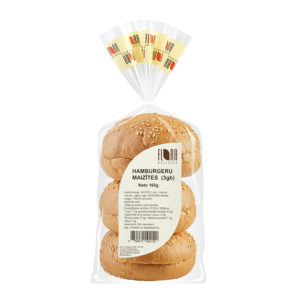 Hamburgeru maizītes 3.gab., 165g