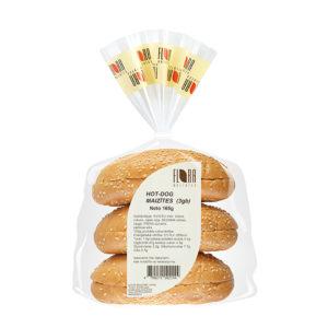 HOT-DOG maizītes 3.gab., 165g