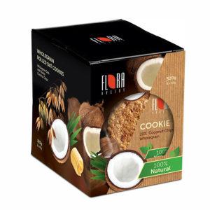 COOKIES Pilngraudu auzu cepumi ar kokosriekstu skaidiņām (40×8) 320g