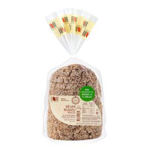Sējas rudzu maize ar briedinātiem rudzu graudiem 300g
