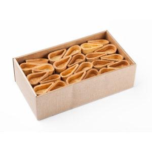Sviesta lāsītes sāļajiem un saldajiem pildījumiem 100 gab., 600g