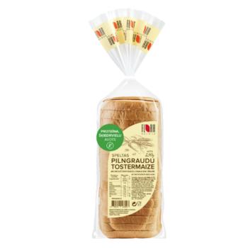 Speltas pilngraudu tostermaize ar diedzētiem rudzu graudiem sīrupā 320g