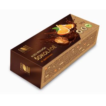 Auzu kraukšķi šokolādē ar apelsīniem 170g